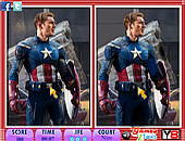10 Differences Captain America