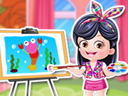 Gra Artystyczna Ubieranka Baby Hazel