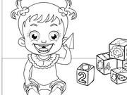 Baby Hazel Kolorowanka Dla Dzieci Baby Hazel Coloring Fajowe