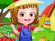 Gra Farmerska Ubieranka Baby Hazel