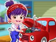 Gra Mała Hania jako Mechanik Samochodowy
