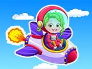 Gra Baby Hazel jako Astronautka
