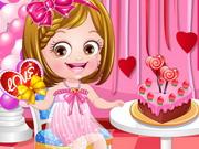 Gra Walentynkowa Ubieranka Baby Hazel