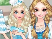 Gra Ubieranka i Pieczenie z Księżniczką Elsą
