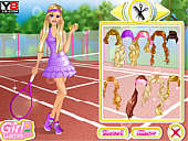 Barbie Tennis Girl