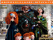 Brave Merida Hidden Alphabet