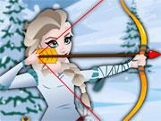 Gra Księżniczka Elsa Turniej Łuczniczy
