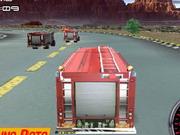 Gra Wyścigi Wozów Strażackich 3D