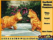 Garfield Hidden Numbers
