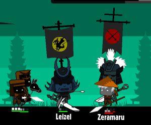 Gra Walka Samurajskich Wojowników