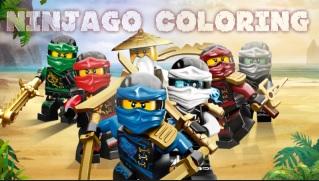 Gra Malowanka Lego Nindżago
