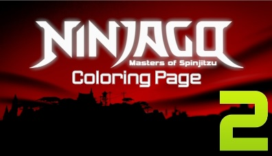 Ninjago Masters of Spinjitzu Coloring Page 2