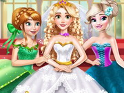 Rapunzel Princess Wedding Dress